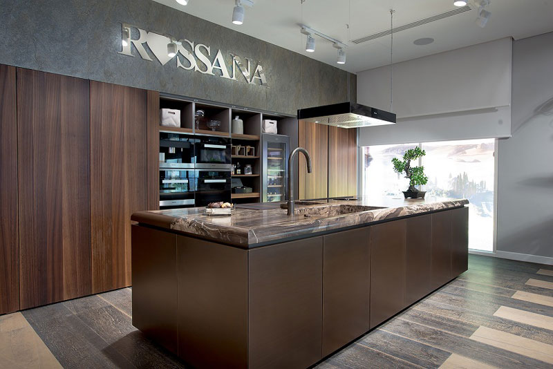 Rossana Italian kitchens design showroom